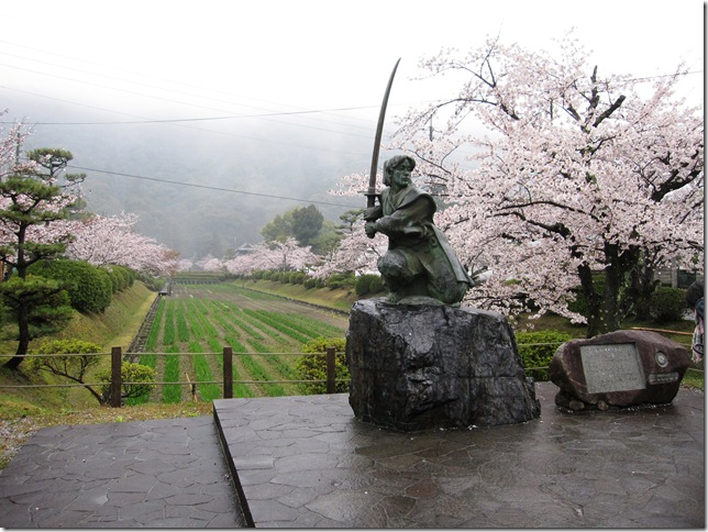 小次郎の像