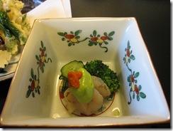 貝の酢味噌