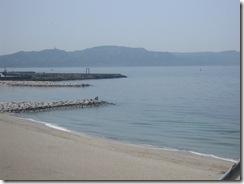 向こうに見えるは淡路島