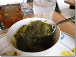 ほうれん草curry