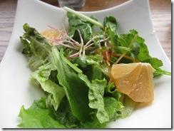 ガーデンランチのサラダ