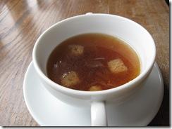 ガーデンランチのスープ