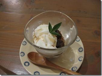 豆乳ぷりんのシャーベット