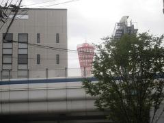 ポートタワーがみえる