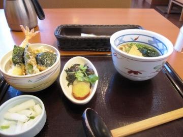 ミニ天丼のセット871円