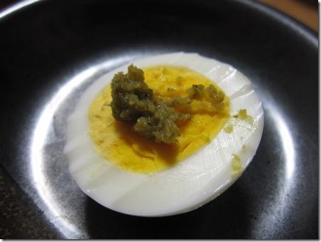 ゆで卵 柚子こしょう味